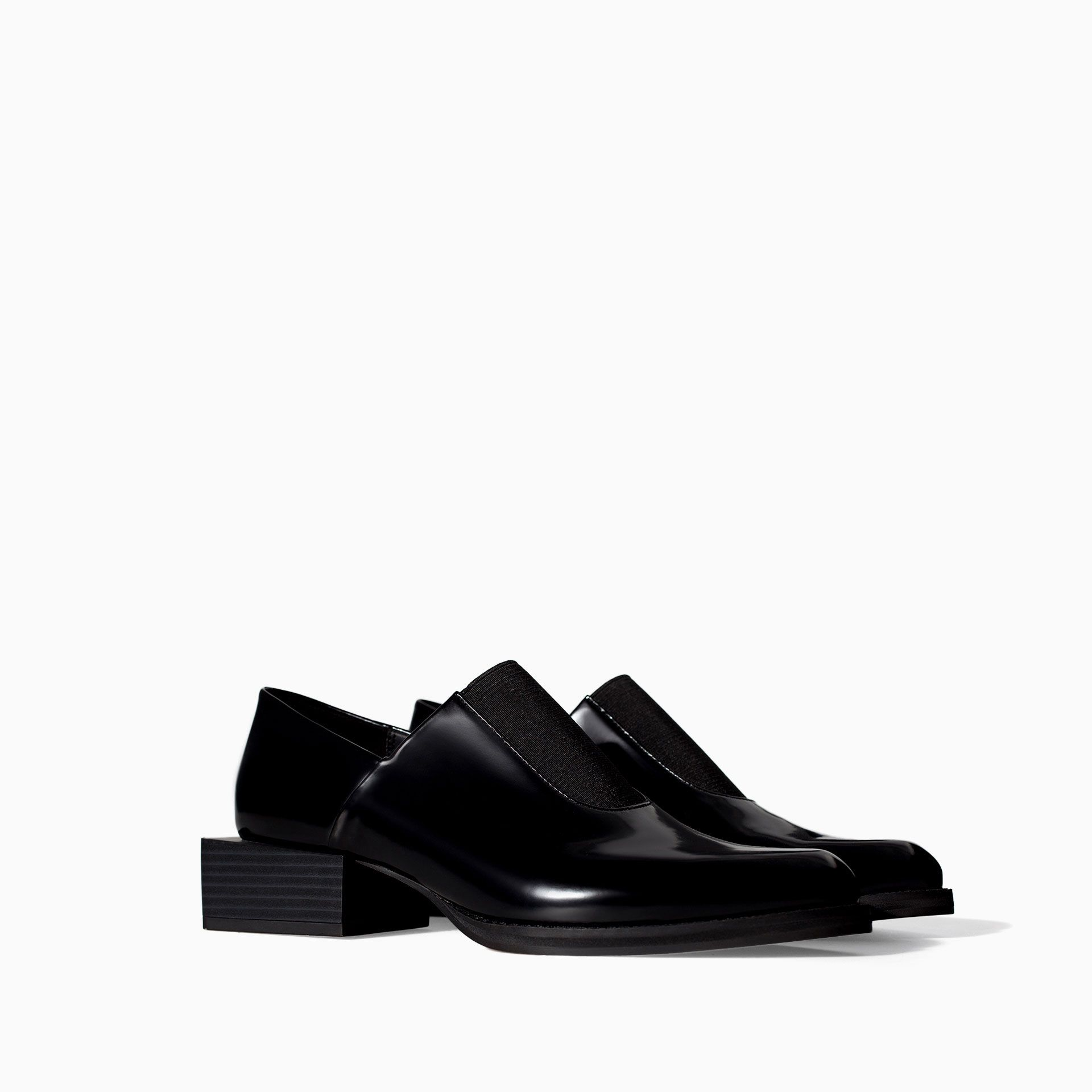 fa1018b307 MOCCASIN WITH ELASTIC INSTEP - Shoes - TRF - SALE | ZARA Canada Ref ...