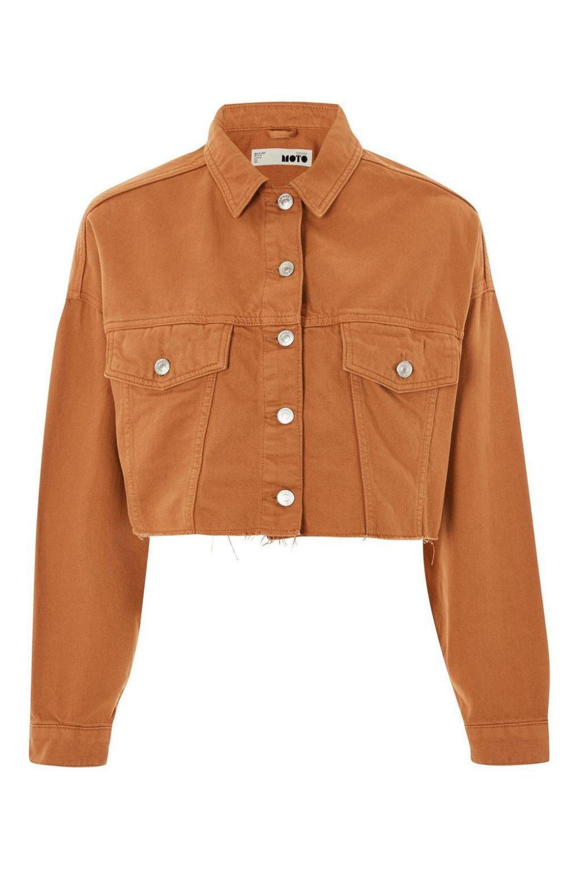 Cropped Denim Jacket Brown Google Search Cropped Denim Jacket Denim Women Aesthetic Hoodie [ 1500 x 1000 Pixel ]