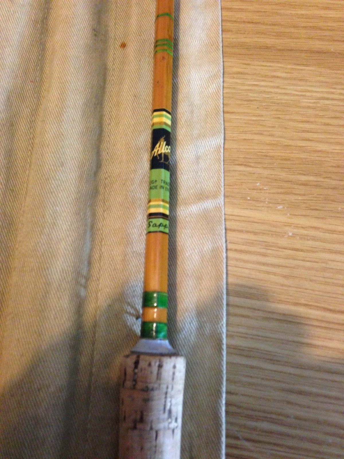 Valuing vintage split cane and bamboo fishing rods