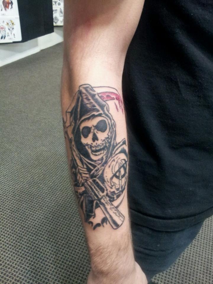 Sons Of Anarchy Sons Of Anarchy Tattoos Tattoos Get A Tattoo