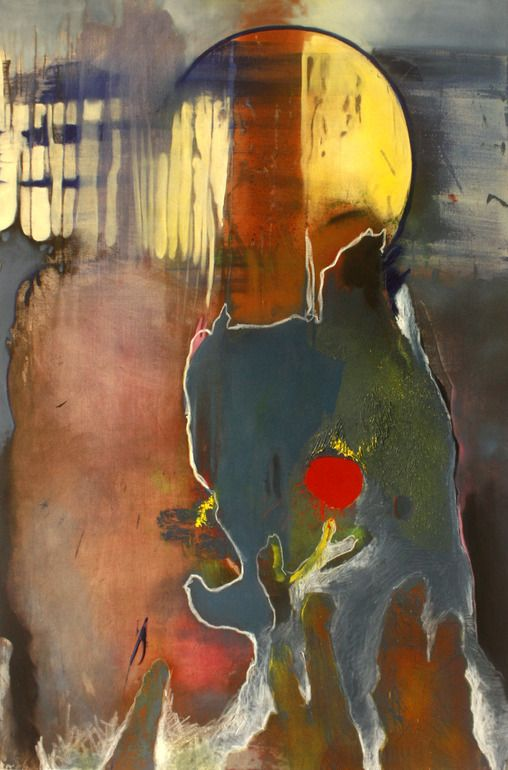 "Saatchi Art Artist: Vita Eruhimovitz; Oil 2012 Painting ""Abstract"""