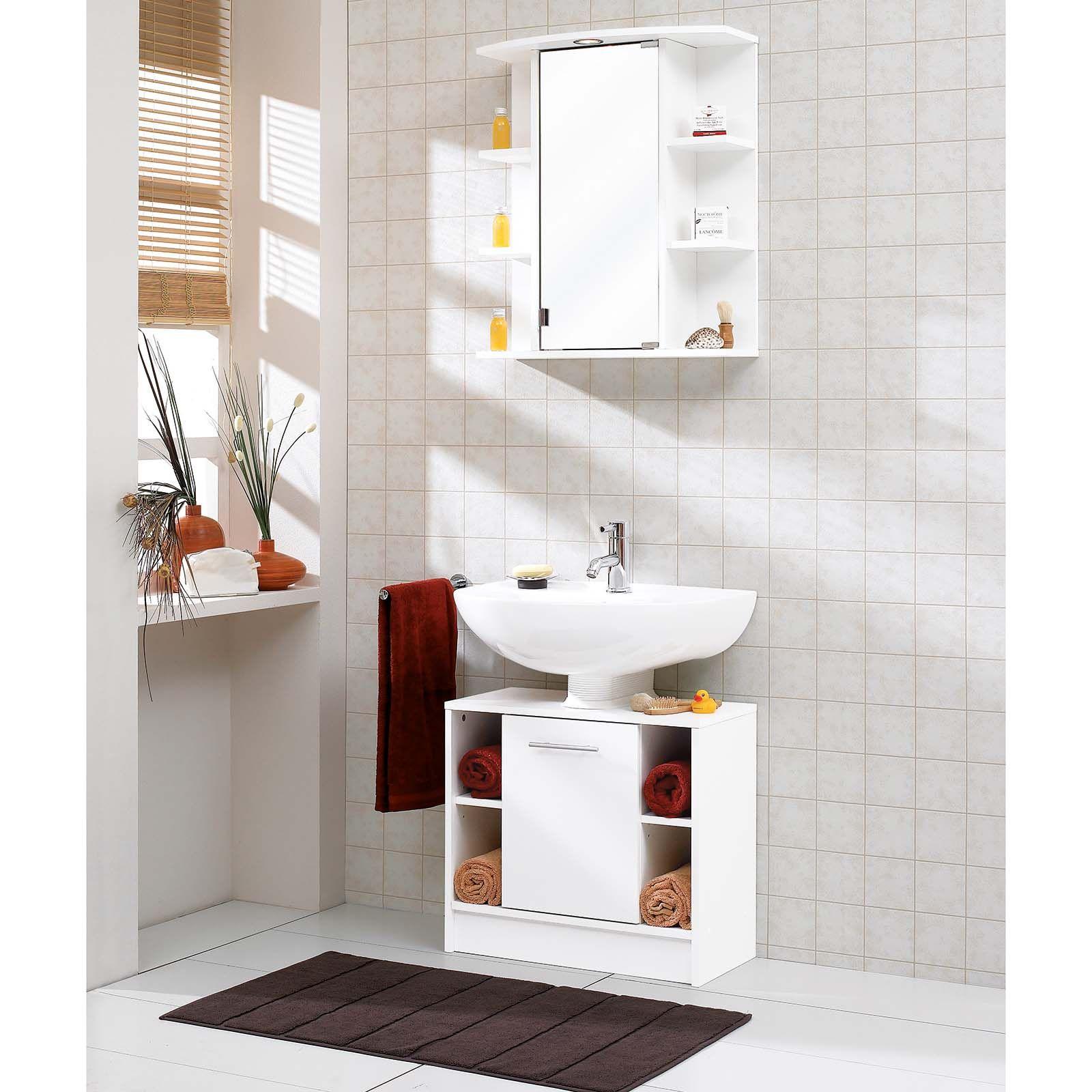 49 99 Praktischer Waschbeckenunterschrank Mit Seitlichen