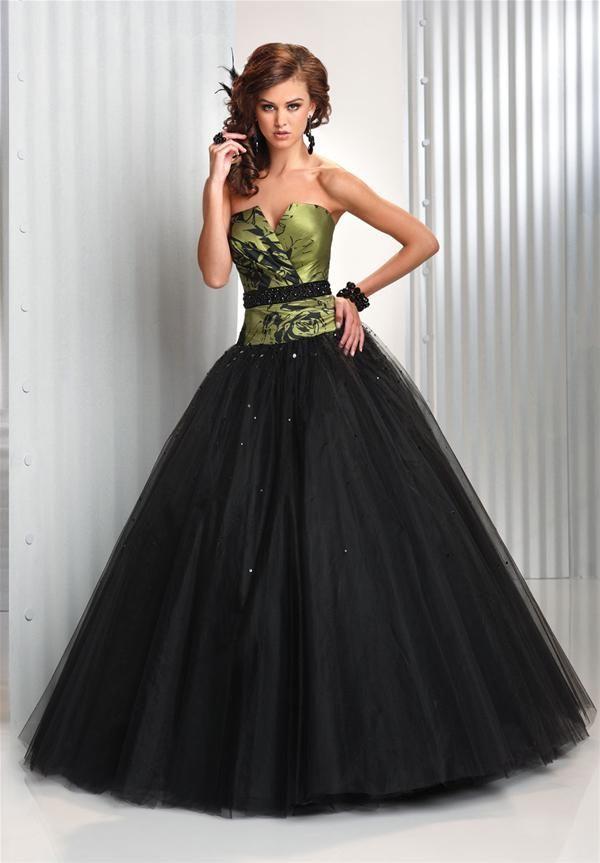 vestidos de 15 negro y morado – vestidos de boda