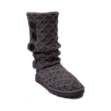 Womens UGG Lattice Cardy Boot Charcoal at Journeys Shoes Although these cost more