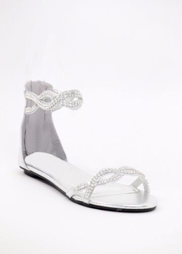 Pin By Shanina Robinson On Lauren And Mike S Wedding Silver Wedding Shoes Bridesmaid Shoes Bridal Sandals