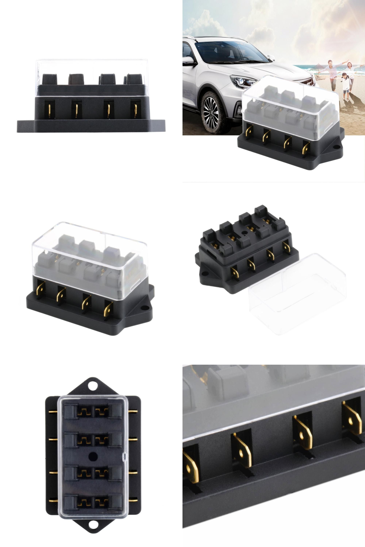 Visit To Buy 4 Way Fuse Box Block Holder Car Vehicle Ads Circuit