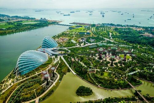 MarlES via Beautful Places Gardens By The Bay, SINGAPORE
