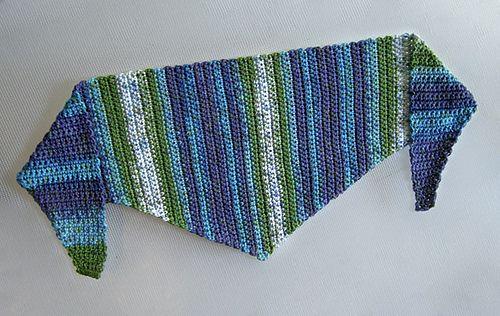 Crochet Baktus Scarf By Helda Panagary Free Crochet Pattern