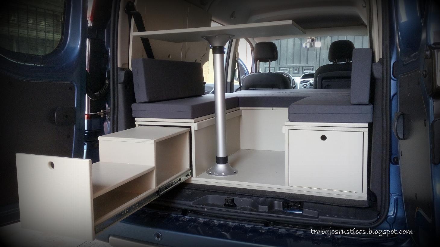 Artesan A Madera Muebles De Madera R Sticos Camperizaciones  # Muebles Westfalia