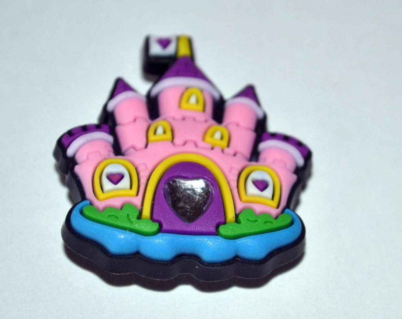 Groovy 61 Designs Princess Castle Pink Amp Purple Shoe