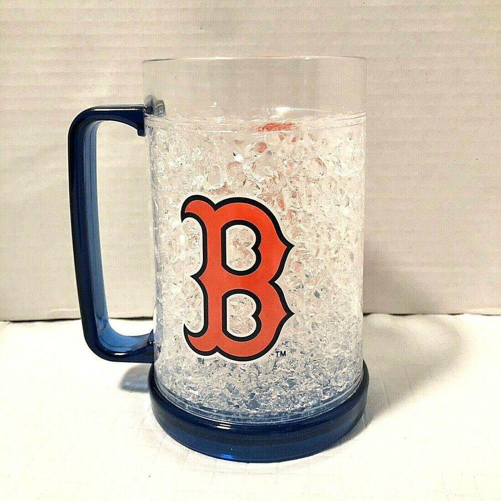 Mlb Boston Red Sox 16 Oz Freezer Mug Red Socks Red B Mlb Bostonredsox In 2020 Mugs Collectable Cups Cool Mugs