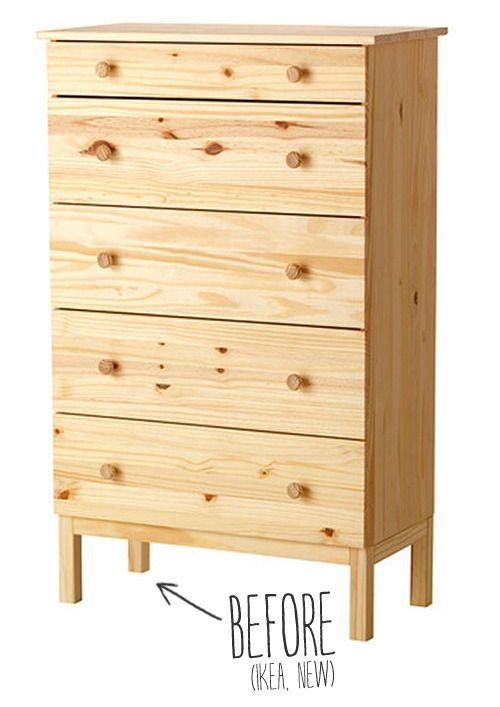 Tool Chest Dresser Makeover: Before And After: An IKEA Dresser Gets A Custom Makeover
