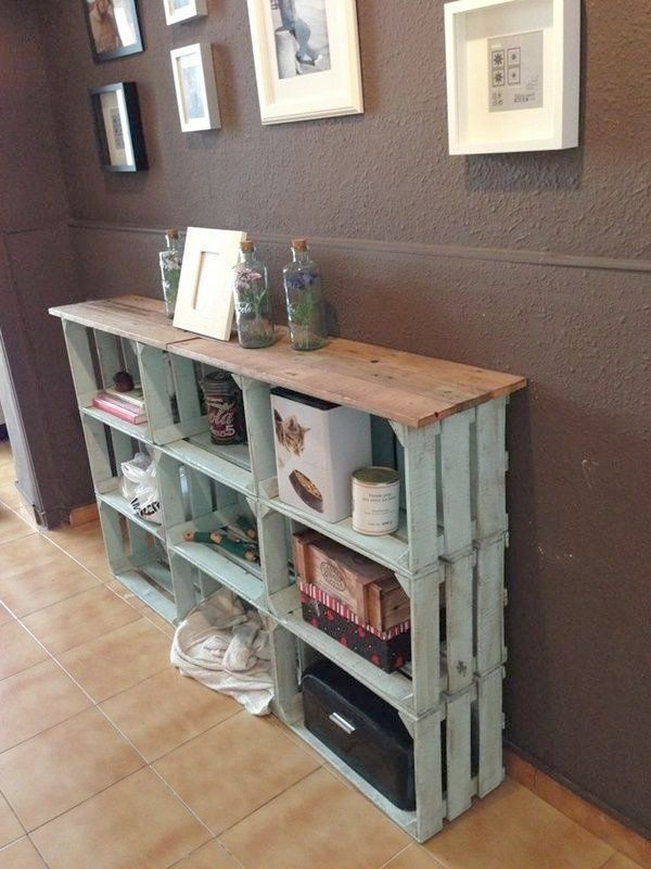 Attractive Wooden Milk Crate Storage Diy Wood Wine Crate Ideas And