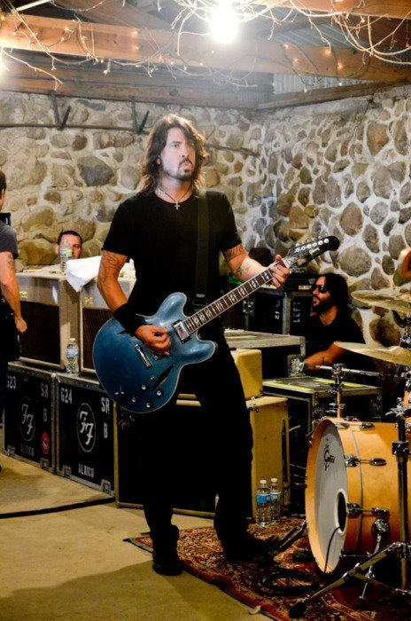 Dave Grohl - garage tour