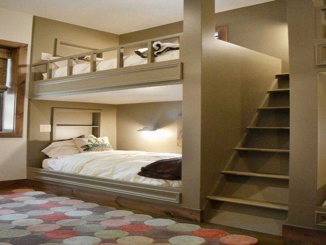 A Bedroom With Adult Bunk Bed images