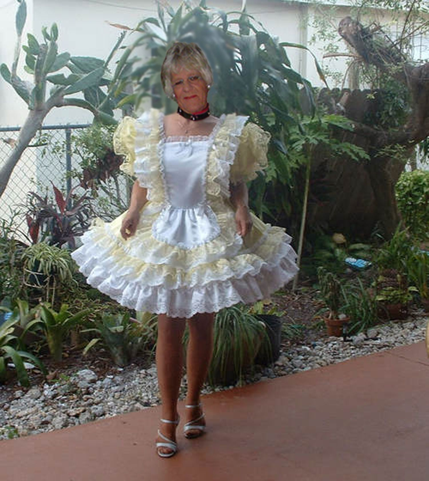 Sissy Adult Baby Dress 1 Sewing Maid Dress Dresses En Sissy Maid