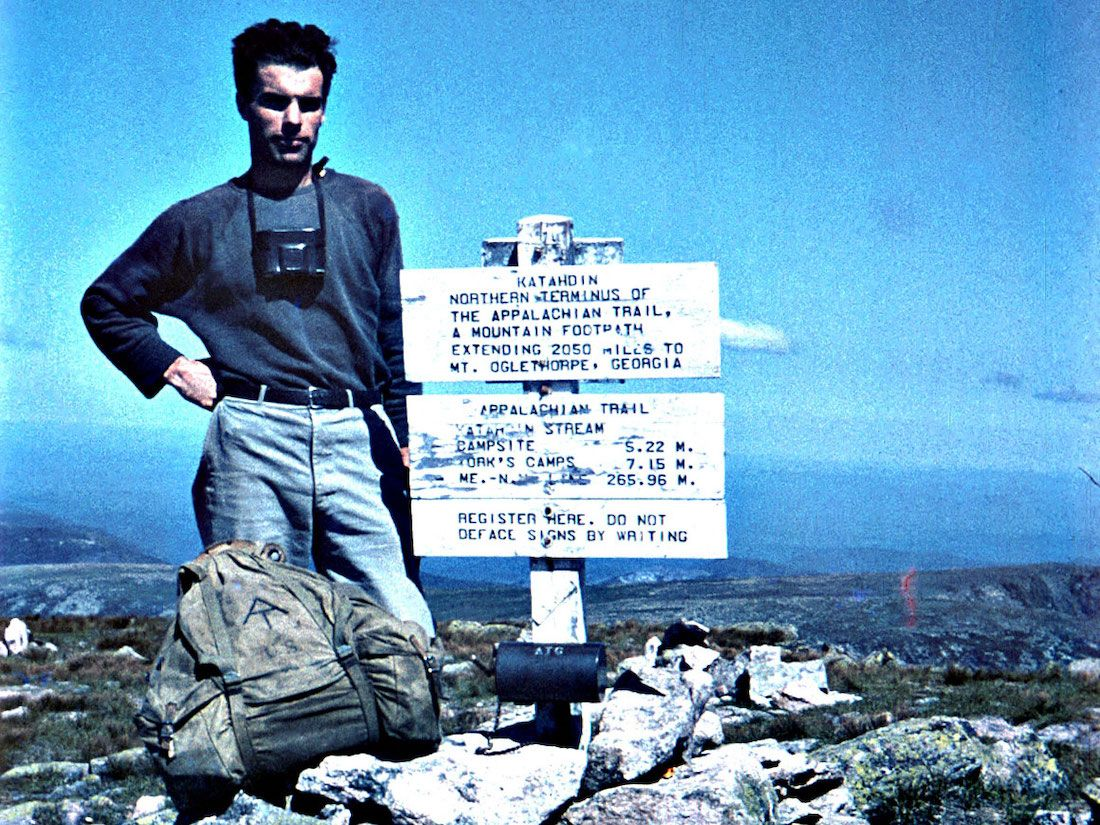 Earl Shaffer The First Thru Hiker Of The At Embo D The