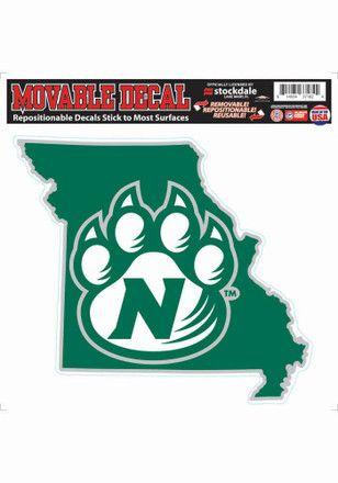 70s Name Sticker Northwest Missouri State University NWMSU Bearcats NCAA Vinyl Decal Laptop Water Bottle Car Scrapbook