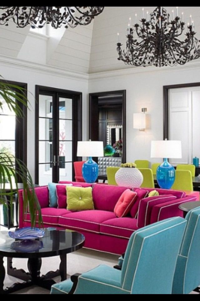 Bright Colored Chairs | Bright colored furniture. Perf ...