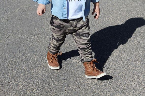 Camo baby pants boy leggings camouflage army harem style leggings baby toddler leggings wholesale baby