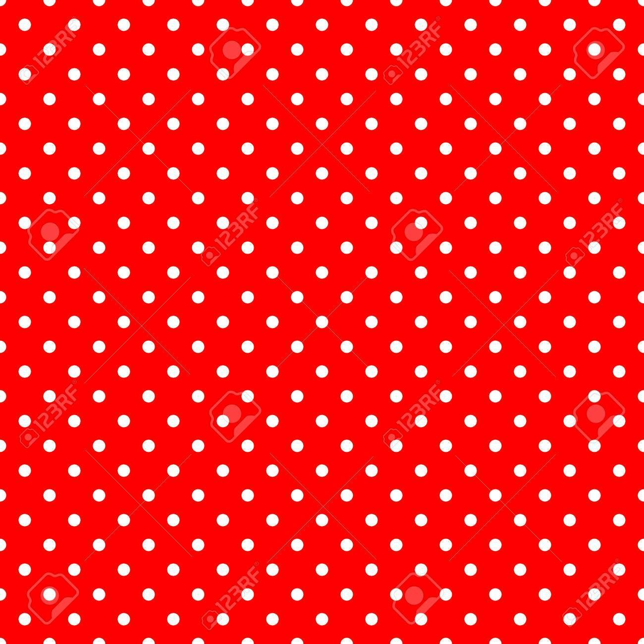 White Polka Dots On Red Background Large Seamless Pattern Stock Photo Spon Red Background Dots Vector Character Design Seamless Patterns Kids Patterns