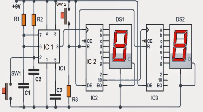 0 60 Counter Circuit Diagram | Wiring Diagram