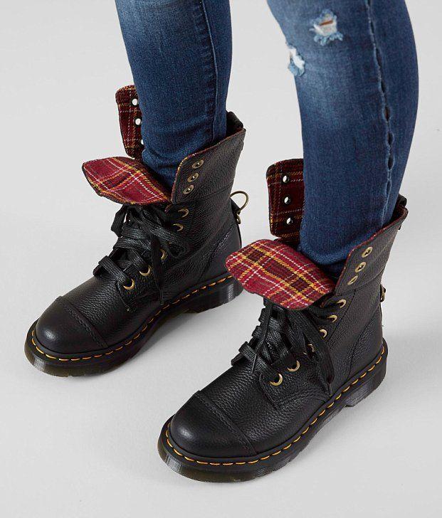6d29cc369b5 Dr. Martens Aimilita Aunt Sally Leather Boot