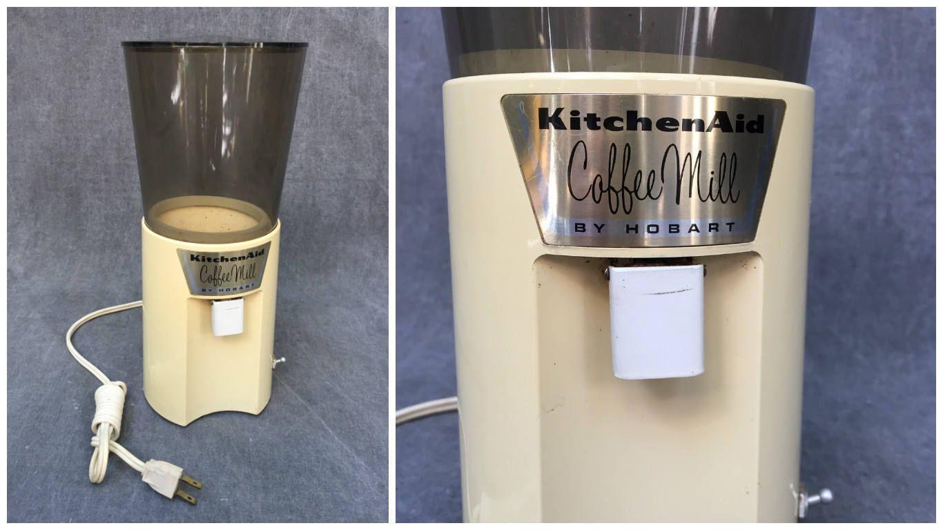 kitchenaid coffee grinder settings