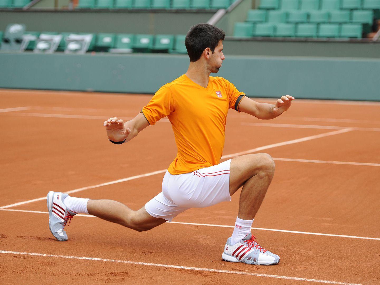 Fitness ability Roland garros, Novak djokovic, Tennis
