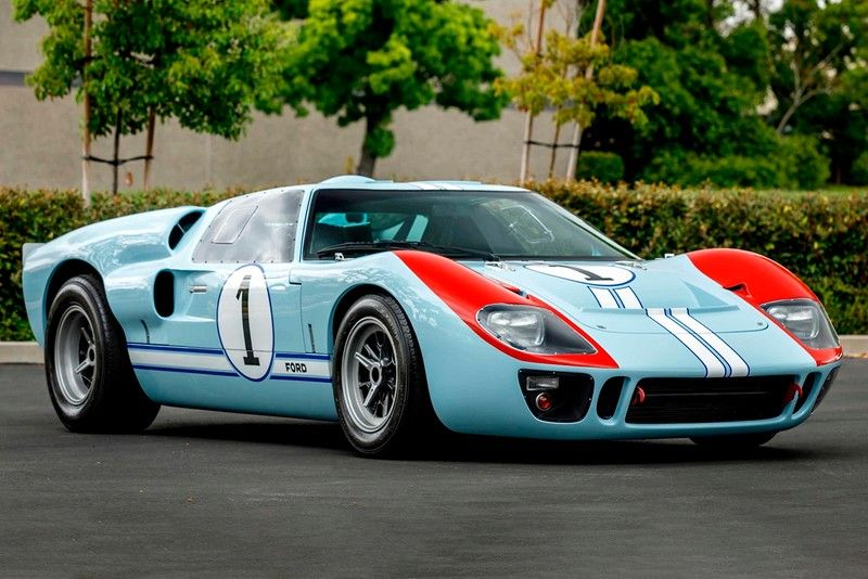 Ford Gt40 Mkii Replica From Ford V Ferrari Driven By Christian