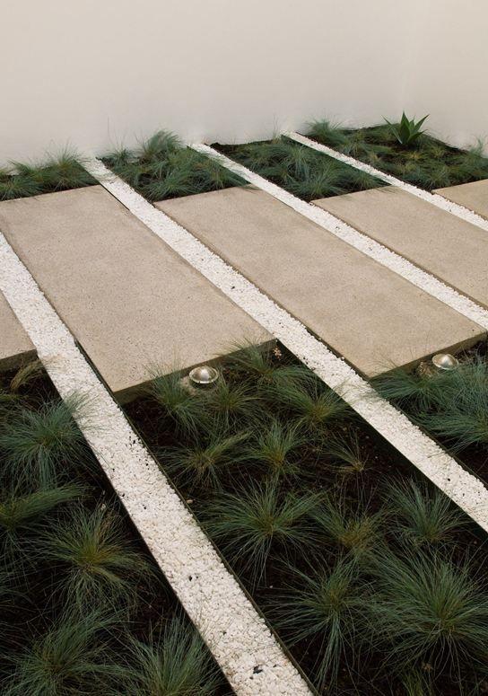 Casa Luz Picture Gallery Garden Paving Modern Landscaping Outdoor Landscaping