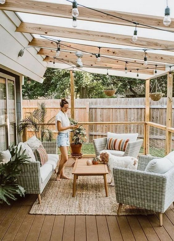 24 Awesome Small Outdoor Patio Ideas On A Budget Small Outdoor Patios Patio Decor Easy Patio