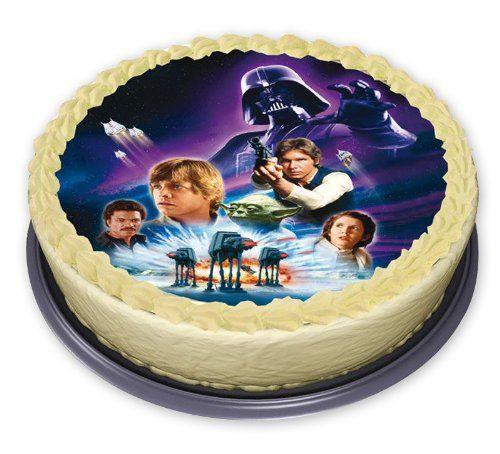 Star Wars Edible Cake Decoration Star Wars Star Wars Edible Cake