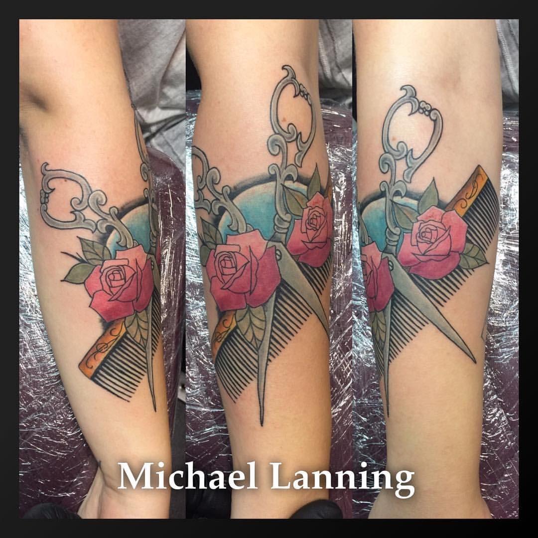 Street Tattoo, Barber Tattoo, Tattoos