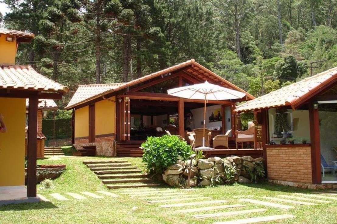 Arquitetura s tio pesquisa google decora o - Terraza casa de campo ...