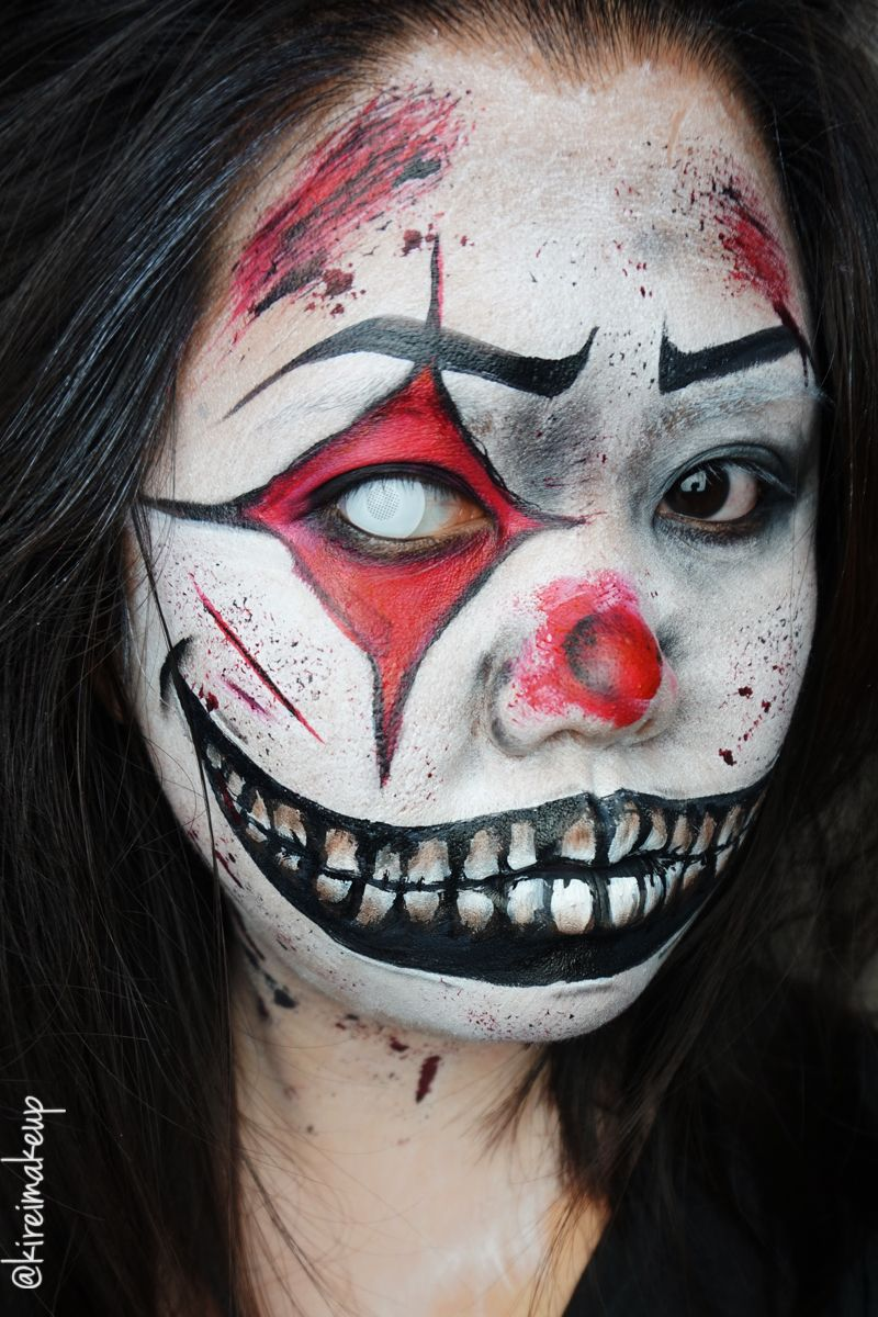 Halloween Sminkningar Clown.Need A Last Minute Halloween Look Find Out How You Can