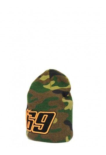 cc85963d956ea Nicky Hayden Beanie. Camouflage Beanie with the number 69 of Nicky Hayden.