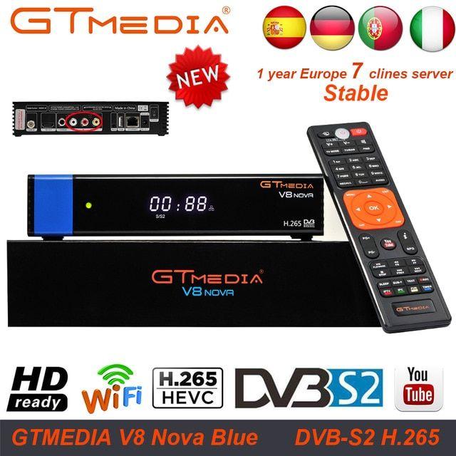 FREESAT V7 HD Satellite TV Receiver GTMEDIA V7S HD DVB-S2 Receptor