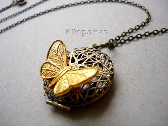 lockets jewelry supplies p s jan butterfly