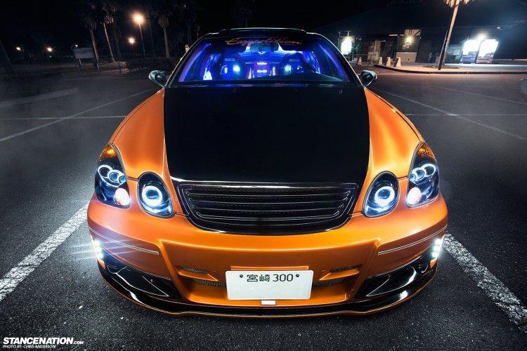 SYOGO ARAI'S LEXUS GS300 1... vip BIPPU VERY RARE Japan