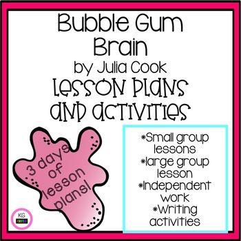 Bubble Gum Brain Activity and Idea Book