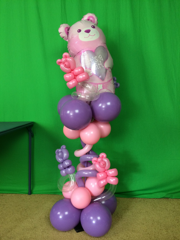 DIY Balloon Centerpiece Tutorial- Baby Shower Project ...