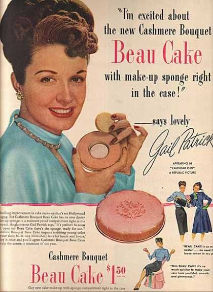 Vintage Beauty Ads | Vintage Beauty and Hygiene Ads of the ...