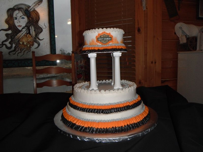 Harley Davidson Wedding Cake Custom Cakes By Rose If