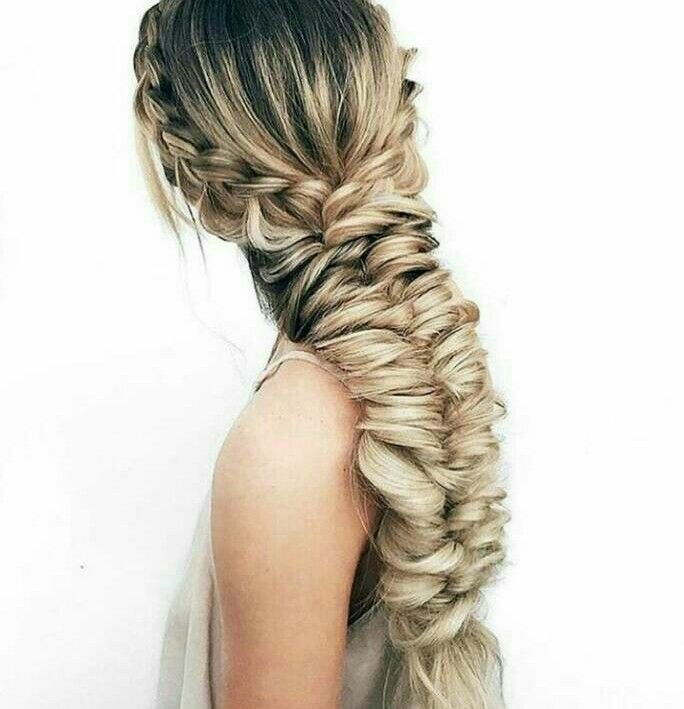 Wedding Hairstyle Price List: WOW Now That Is Kind Of Thick Braid