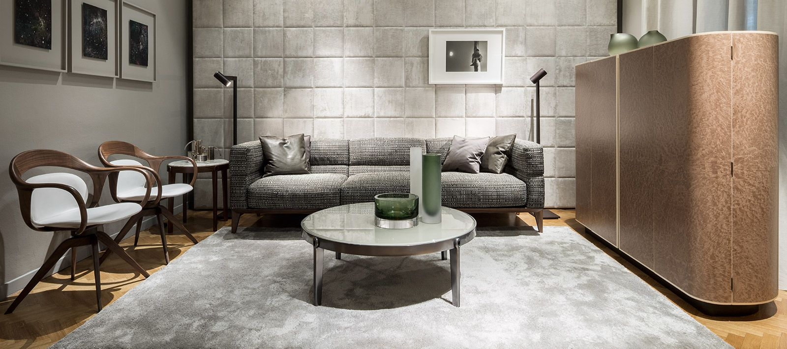 giorgetti ago sofa coffee table u0026 side table norah armchairs moore cabinet