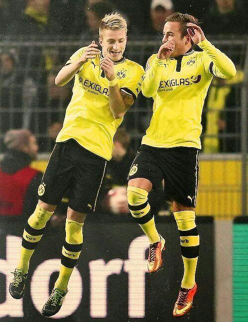 BVB Borussia Dortmund Wall Clock Football Fanatics