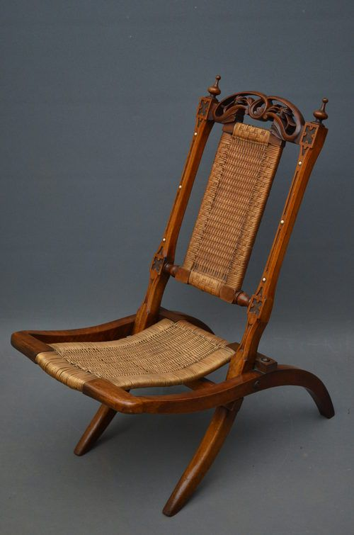 Victorian Folding Chair - Antiques Atlas - Victorian Folding Chair - Antiques Atlas Quilts Pinterest