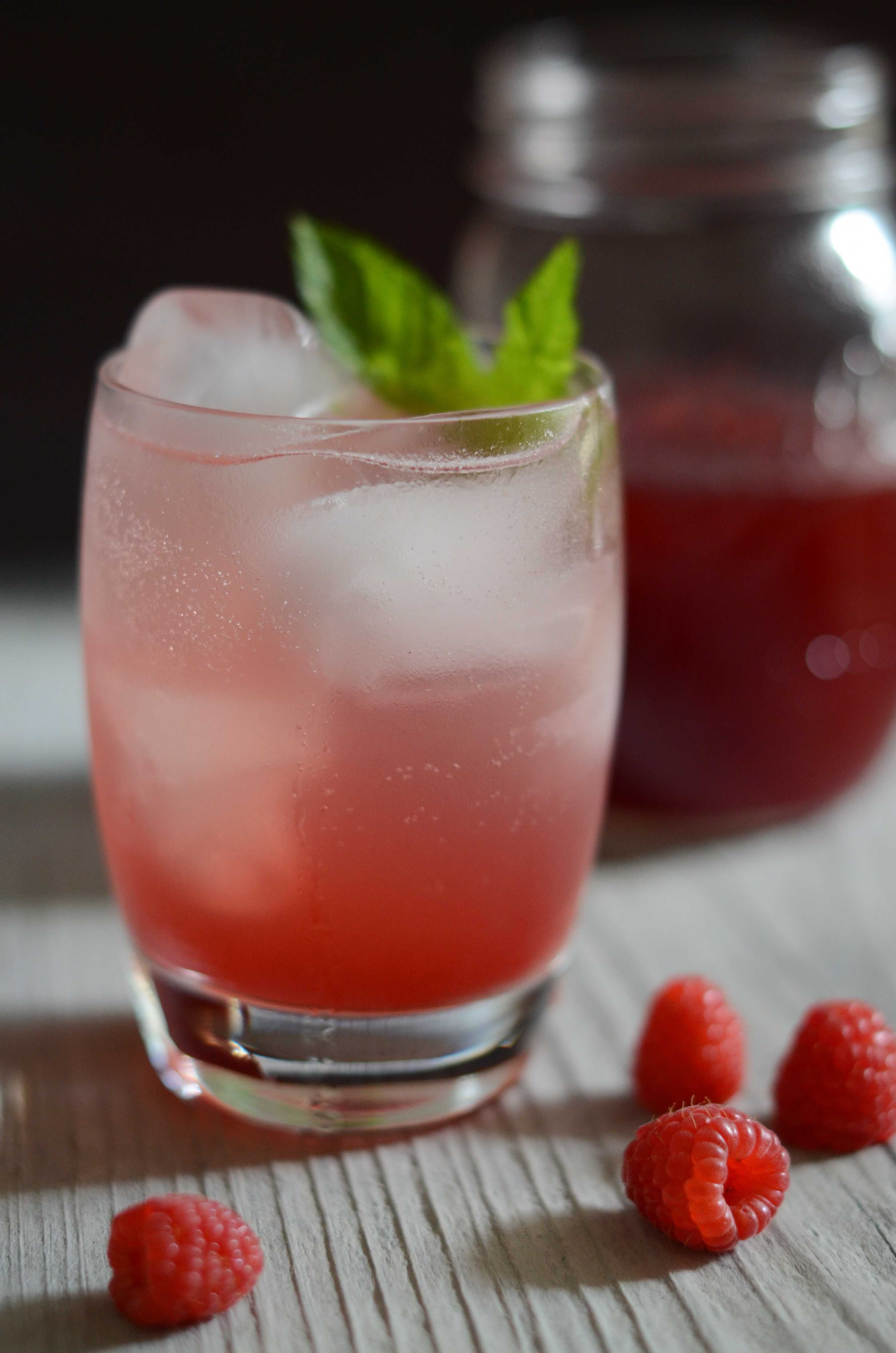 Raspberry Mint Simple Syrup Aip Paleo