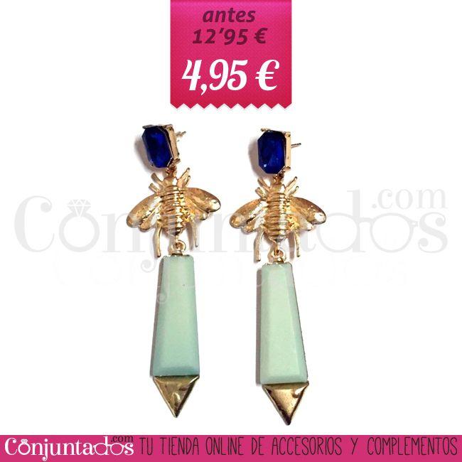 Pendientes Liz ★ 4'95 € en https://www.conjuntados.com/es/outlet/pendientes-liz-en-azul-pastel.html ★ #pendientes #earrings #rebajas #discounts #sales #soldes #descuentos #conjuntados #conjuntada #joyitas #lowcost #jewelry #bisutería #bijoux #accesorios #complementos #moda #fashion #fashionadicct #fashionblogger #blogger #picoftheday #outfit #estilo #style #GustosParaTodas #ParaTodosLosGustos